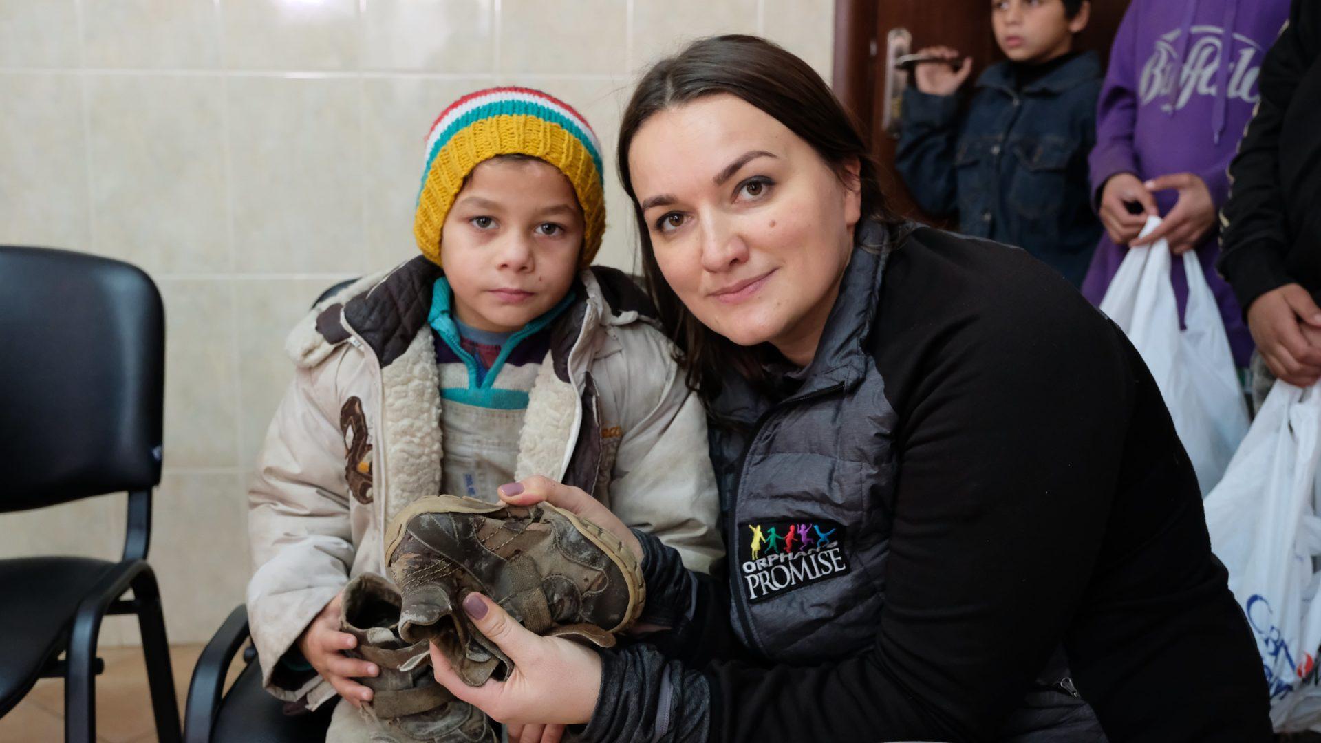 Warm A Child | Ukraine | Orphan's Promise