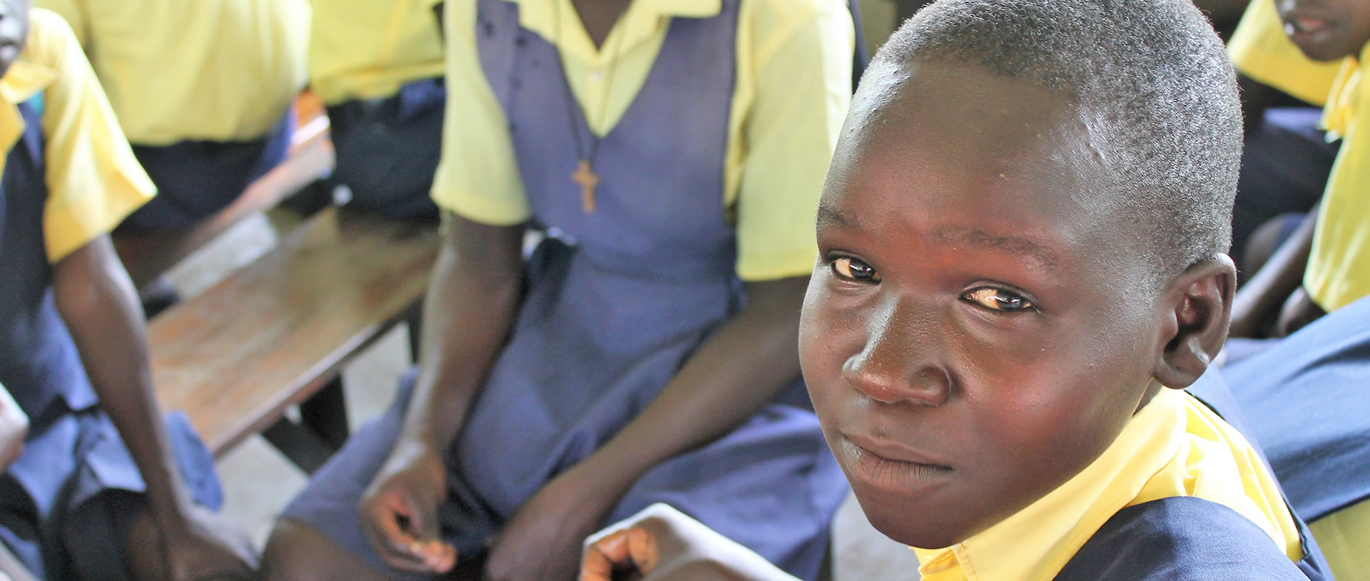Students in S. Sudan find hope through education banner
