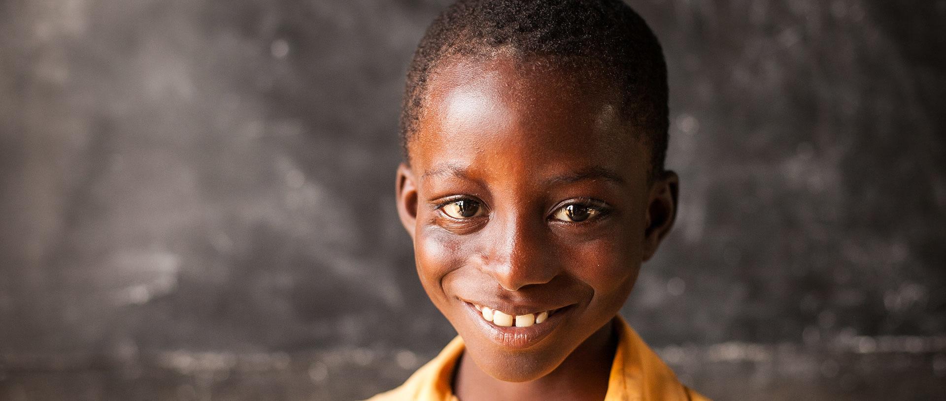 a new family for Ghana's lost children banner
