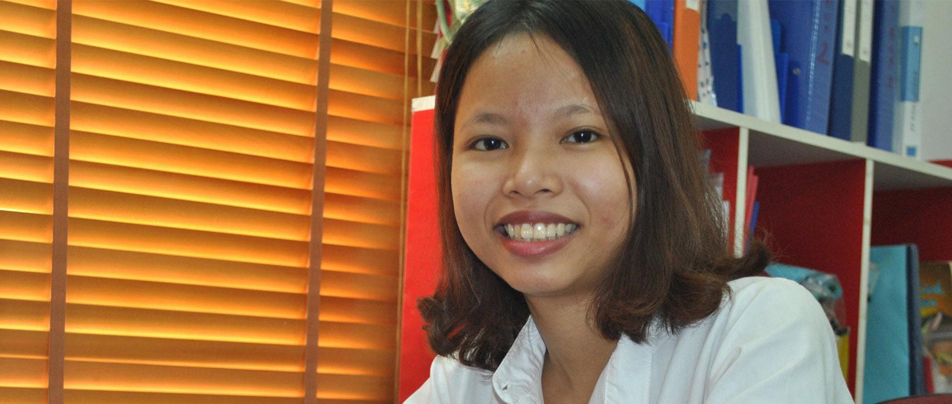 Hien finds Victory in Vietnam banner