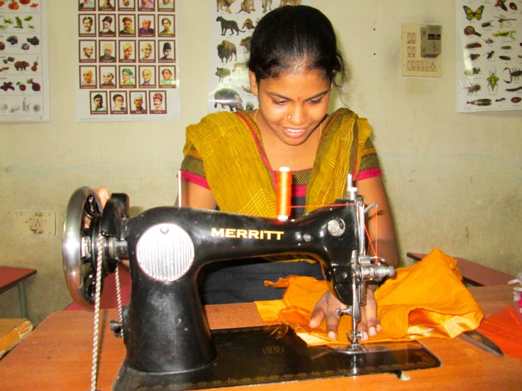 stitching together a new life for Mounika banner